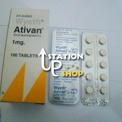 Buy Ativan 1mg (Lorazepam) Generic Online.