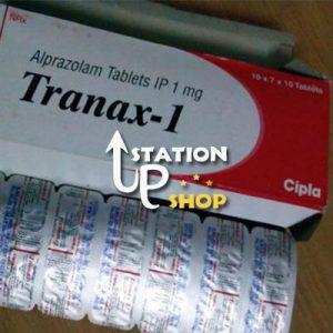 Buy Tranax 1 mg (Alprazolam by Cipla) Online