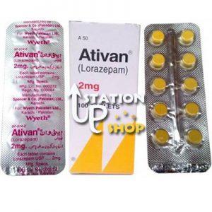 Order Ativan 2mg (Lorazepam) Generic Online